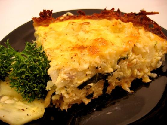 Cauliflower Cheese Pie Recipe - Food.com