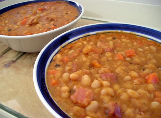 Baked Bean Style Bean Soup Recipe Genius Kitchen