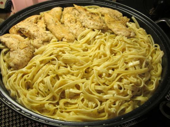 Olive Garden Fettuccine Alfredo Recipe Genius Kitchen