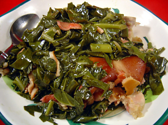 Recipe For Collard Greens With Ham Hocks