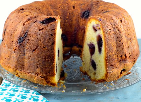 Blueberry Cream Cheese Pound Cake Recipe - Food.com