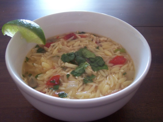 Yucatan-Style Chicken, Lime, And Orzo Soup Recipes — Dishmaps
