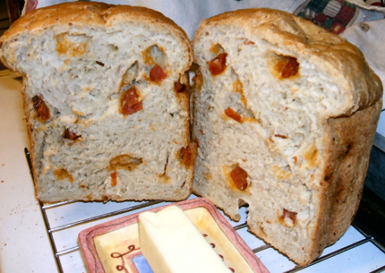 Homemade Cheese And Pepperoni Bread Bread Machine) Recipe ...