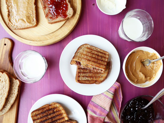 Peanut Butter And Jelly Panini Recipe - Food.com