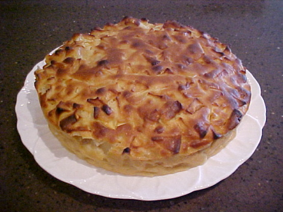 Apple or pear clafouti an easy french dessert recipe for French cuisine recipes
