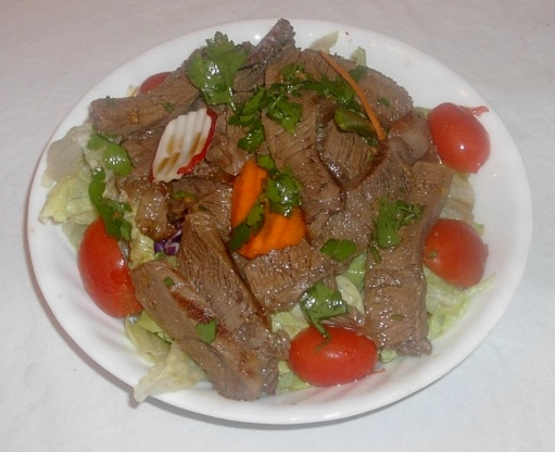 Asian Grilled Beef Salad Recipe - Food.com