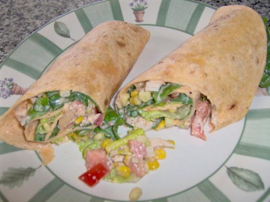 fe chicken salad wraps santa fe chicken salad santa fe chicken salad ...