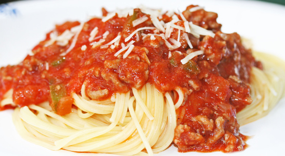 Simple Spaghetti Recipe - Food.com