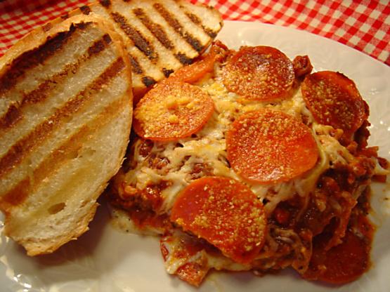 Pepperoni lasagna recipe easy