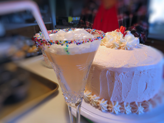 Birthday Cake Mimosa Redbook