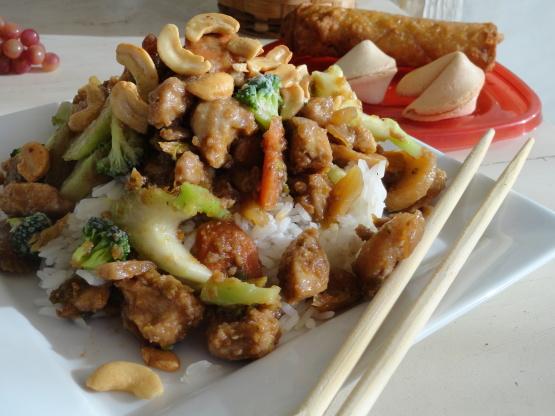 how to make cashew chicken
