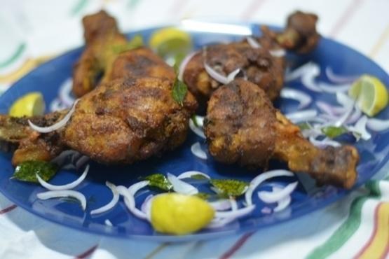 Kerala Style Nadan Chicken Fry Chicken Drumstick Fry ...