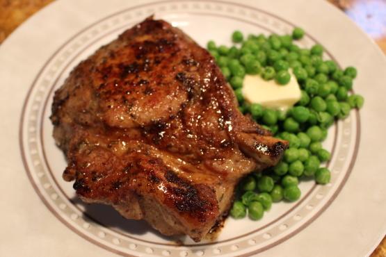 how to cook pork ribeye boneless thick