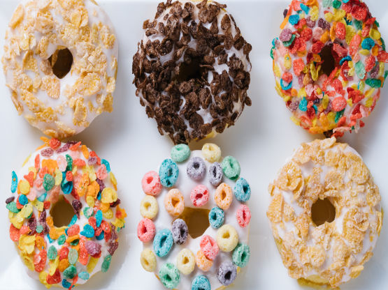 Cereal Milk Donuts