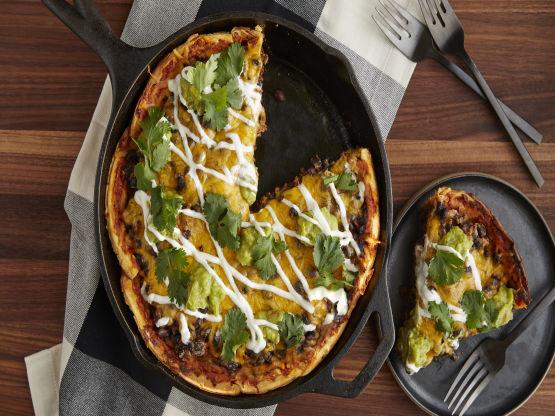 Deep Dish Taco Pizza | Watch Genius Kitchen