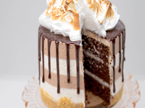 S'Mores Drip Cake