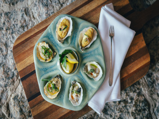 Oysters, Three Ways