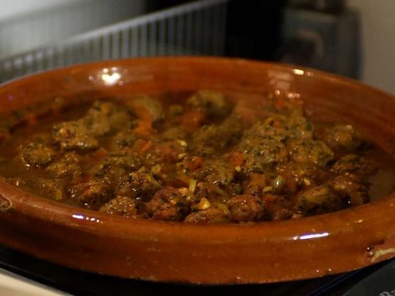 Moroccan Egg and Meatball Tagine
