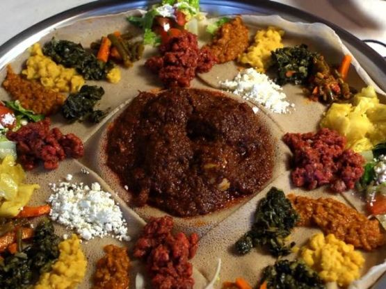Injera (Fermented Sourdough Bread)