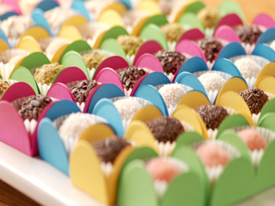 Traditional and Pink Brigadeiros
