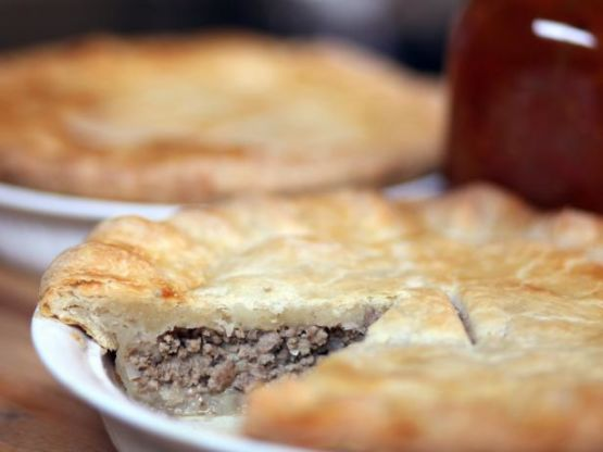 Tourtiere (Aka Meat Pie)
