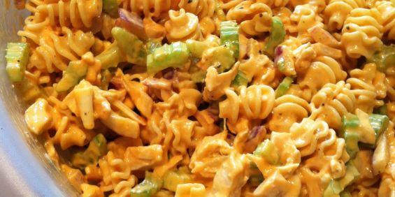 Buffalo chicken pasta recipes easy
