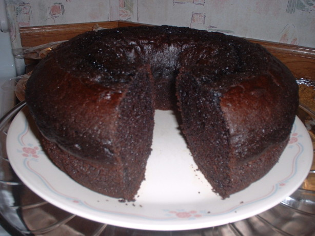 Melted Chocolate Pound Cake Loaf Pan