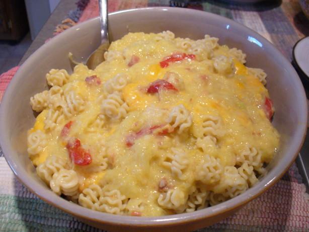 Cheesy Chicken Spaghetti Squash Sauce Over Pasta Recipe