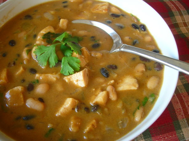 Black And White Bean Chicken Chili Recipe - Food.com