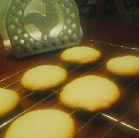 Crisp Lemon Sugar Cookies Recipe Food Com