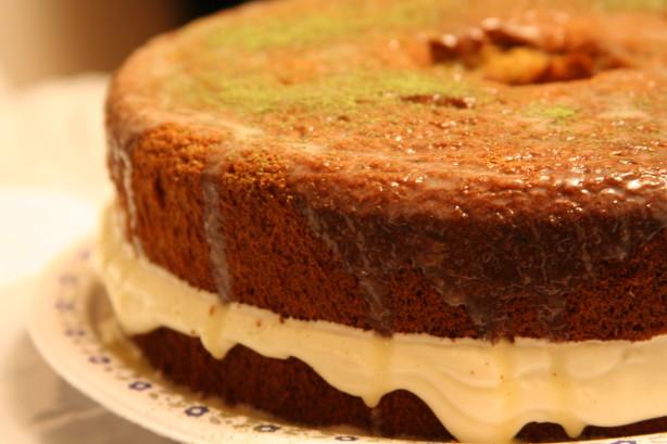Green Tea Cake Recipe Japanese: Green Tea Japanese Sponge Cake