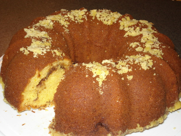 Easy Cake Mix Coffee Cake Also Known As Breakfast Cake