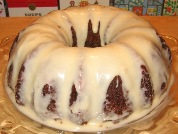 Carrot Bundt Cake With Glaze Recipe Baking Food Com