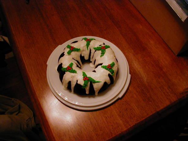 Easy Christmas Holly Bundt Cake Recipe Food Com