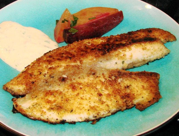 Simple ranchy breaded fish fillets recipe for How to make breaded fish