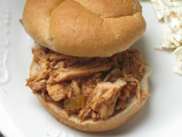 tangy bbq pork roast crock pot recipe food
