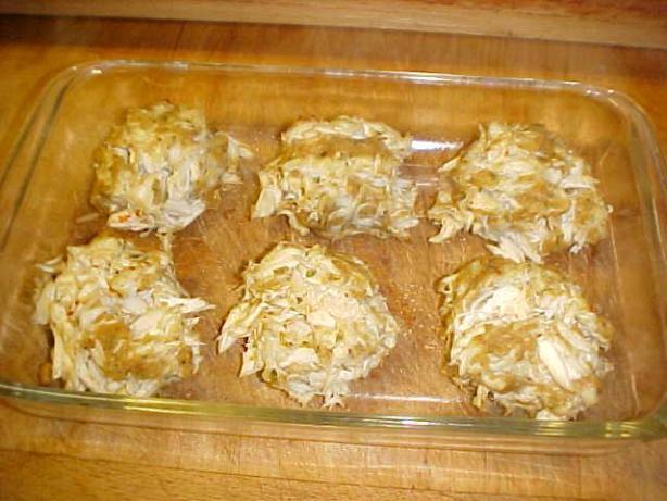 Breadless Crab Cake Recipe