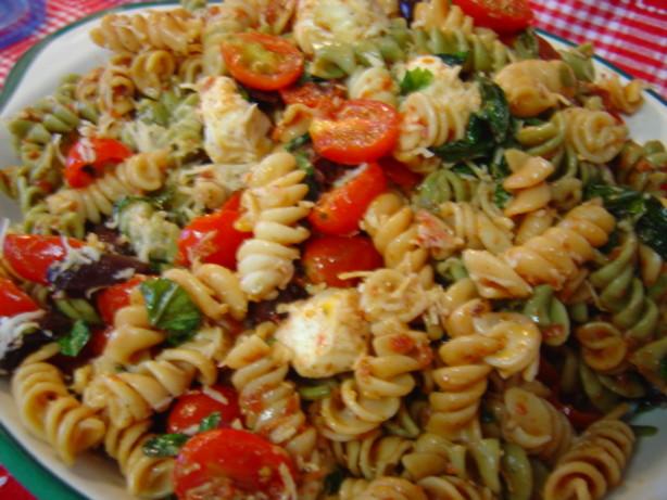 Sundried Tomato Pasta Salad Recipe — Dishmaps