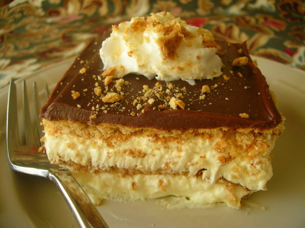 Chocolate eclair dessert recipe for Quick dessert recipes with pictures