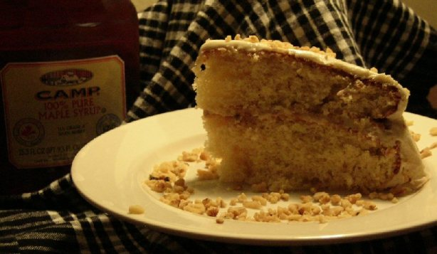 Maple Syrup Cake With Maple Frosting Recipe - Food.com