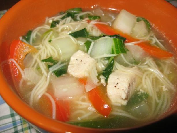 Five-spice Chicken Noodle Soup Recipe - Food.com