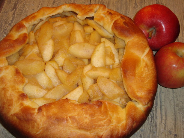 Rustic Apple Tart With Rich Cream Cheese Crust Recipe - Food.com