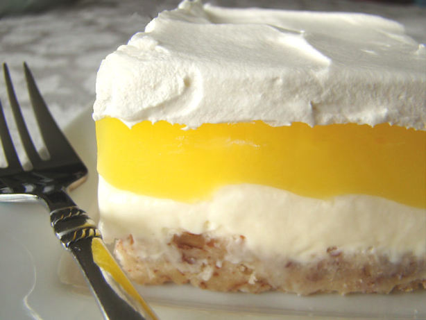 Layered Lemon Or Chocolate Lush Aka Luscious Lemon Layers