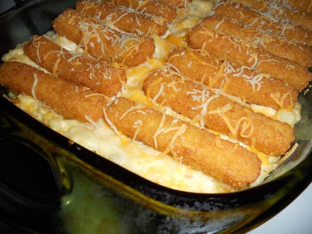 Its a keeper fish stick casserole recipe for Fish casserole recipes