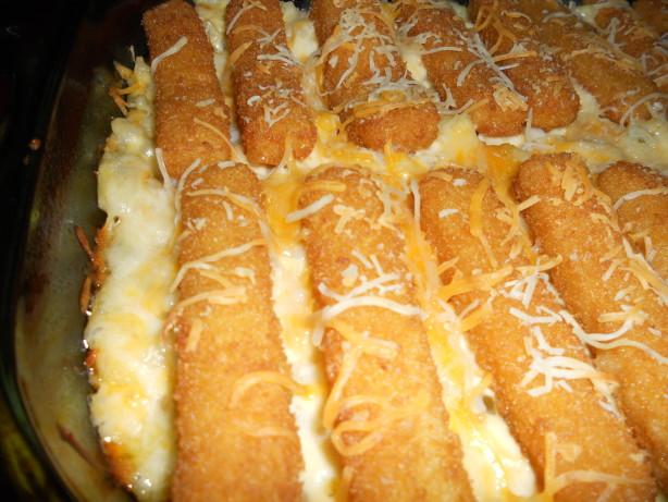 Its a keeper fish stick casserole recipe for Fish stick recipe
