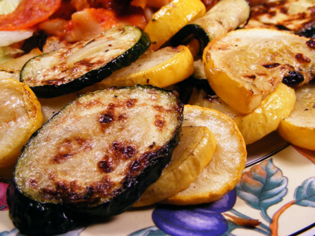 Marinated And Grilled Zucchini And Summer Squash Recipe - Food.com