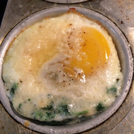Baked Eggs With Spinach And Parmesan Recipe - Food.com