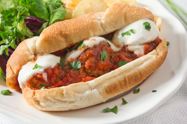 how to eat a meatball sub