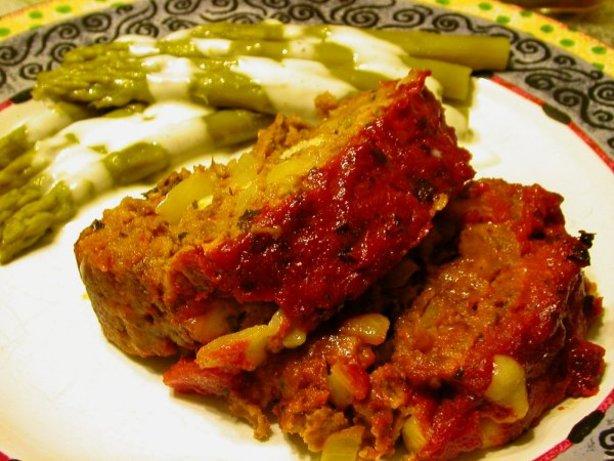 Cheese Stuffed Italian Meatloaf Recipe - Food.com