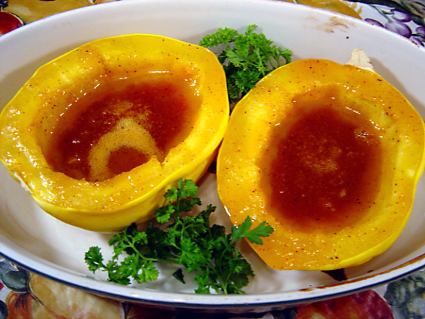 Orange-Glazed Acorn Squash Recipe - Food.com